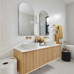 ISSY Halo III Vanity Unit with 3 Touch Latch Drawers
