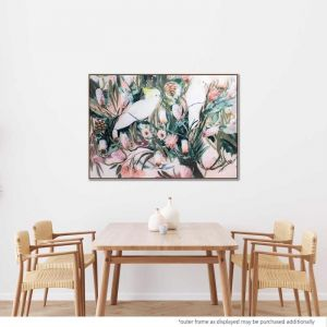 It Takes Two | Painting with Natural Floating Frame