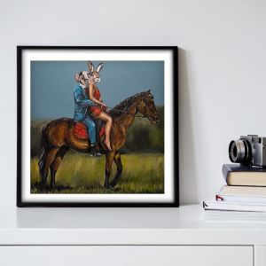 It was Better than Sex | Limited Edition Giclee Print | by Gillie and Marc