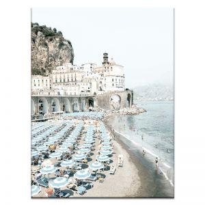 Italian Beach Club 2   Canvas or Art Print   Framed or Unframed