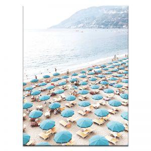 Italian Beach Club | Canvas or Art Print | Framed or Unframed