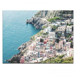 Italian Coast | Canvas or Art Print | Framed or Unframed