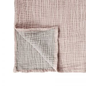 Ivy Baby Blanket | Collective Sol | Ivy Dusty Rose