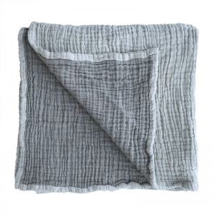 Ivy Baby Blanket | Collective Sol | Ivy Grey