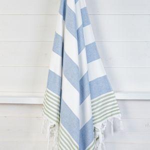Izmir Denim Olive | Turkish Towel