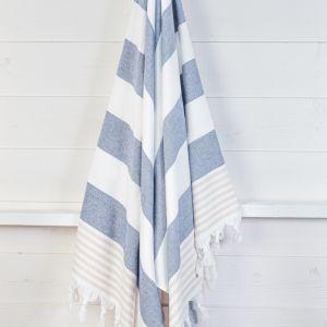 Izmir Denim Sand | Turkish Towel