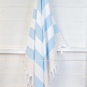 Izmir Sky/Sand | Turkish Towel