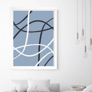 Izzy | Framed Wall Art by Beach Lane