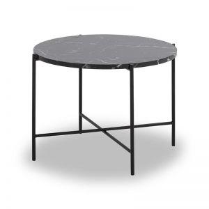 Jaden Side Table Large | 60cm | Black & White