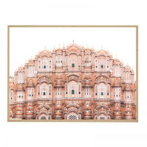 Jaipur Mahal   Framed Art Print