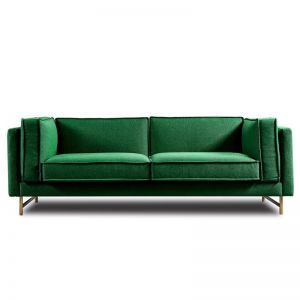 Jalpa 3 Seater | Emerald Green