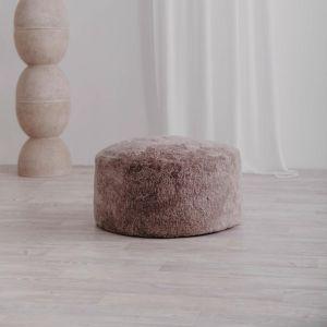 Jamieson Sheepskin Ottoman | 60cm Latte | Pre-Sale July | Huxford Grove