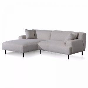 Jasleen Left Chaise Sofa | Sterling Sand