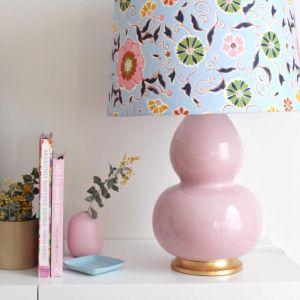 Jasmine Lamp Base | Blush Pink