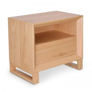 Jaxson Bedside Table | Natural Oak | Interior Secrets