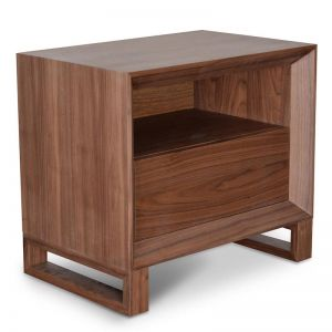 Jaxson Bedside Table | Walnut | Interior Secrets