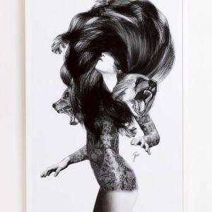 Jenny Liz Rome   Bear #3   Print