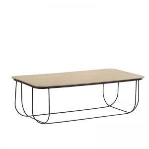 Jensen Coffee Table | 120cm | Natural & Black