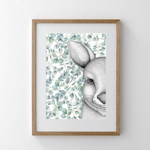 Jeremy The Joey With Eucalyptus Leaves