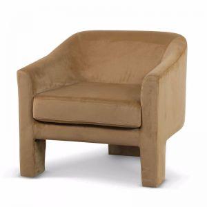 Jerrod Fabric Armchair | Mustard