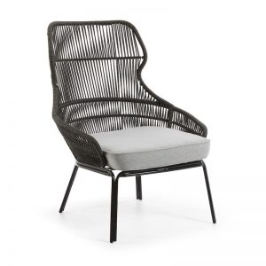 Jet Patio Armchair | Charcoal | CLU Living