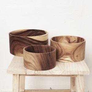 Jira Wooden Fruit Bowl