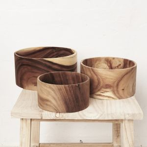 Jira Wooden Fruit Bowl l Pre Order