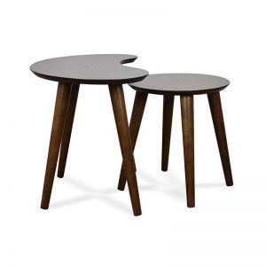 Johansen Nest of Tables   Walnut   Interior Secrets