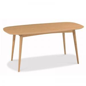 Johansen Scandinavian Fixed Dining Table   Natural   Interior Secrets