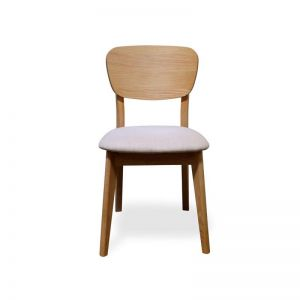 Johansen Veneer Chair | Fabric Seat | Interior Secrets