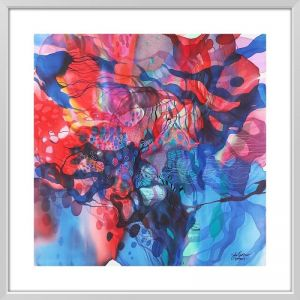 John Martono 'Colourful Dream' | Framed Art Print by Tusk Gallery