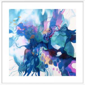John Martono 'Flying' | Framed Art Print by Tusk Gallery