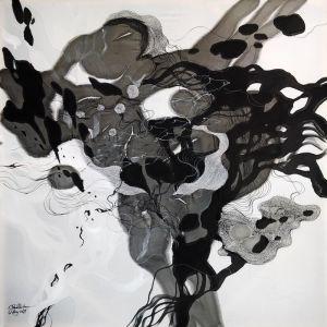 John Martono 'Happiness Song' | Framed Print by Tusk Gallery