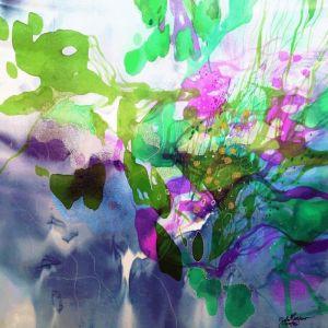John Martono   Lily Pond   Canvas   Various Sizes by Tusk Gallery