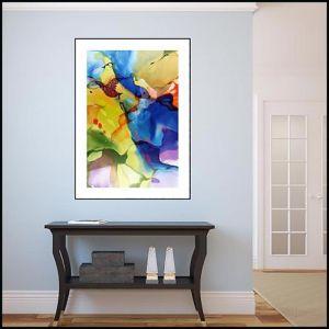 John Martono 'Passionate Evening'   Framed Print by Tusk Gallery