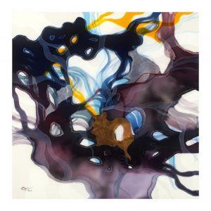 John Martono 'Purple Evening' | Framed Print by Tusk Gallery