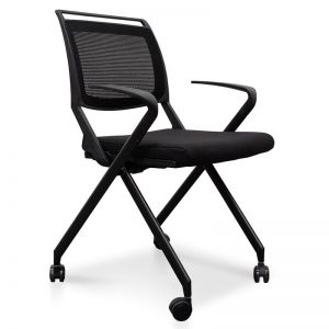 Josh Office Visitor Chair | Black | Interior Secrets