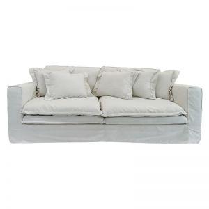 Joshua Sofa 3 Seater | White