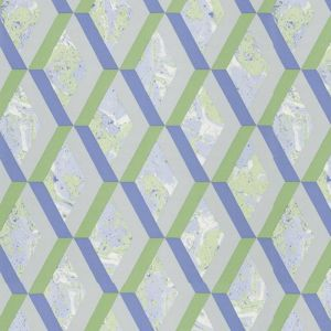 Jourdain Trellis Wallpaper - Cobalt
