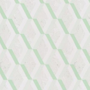 Jourdain Trellis Wallpaper - Jade
