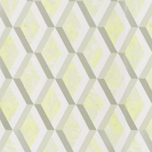 Jourdain Trellis Wallpaper - Limelight