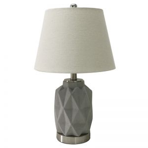 Jude Bedside Lamp w/shade