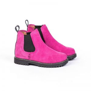 Junior Kids Work Boots | Hot Pink