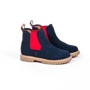 Junior Kids Work Boots | Navy Blue