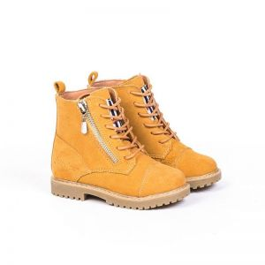 Junior Kids Work Boots | Wheat