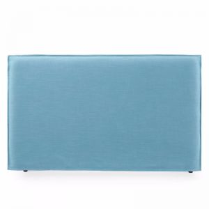 Juno Bedhead with Slipcover | King | Teal | by Black Mango
