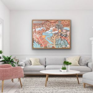 Just The Beginning | Canvas Print by Aurora Art
