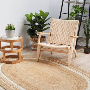 Jute Noosa | Oval Rug - PREORDER END JANUARY 2021 ARRIVAL