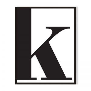 K | Framed Print | Artefocus