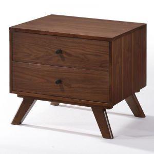 Kaarlo Bedside Table | Walnut | Modern Furniture